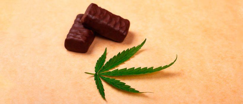 Bombones cannábicos o de marihuana