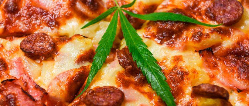 receta de pizza cannábica