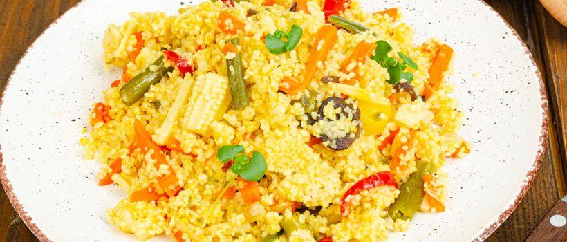cuscús de verduras cannábicos